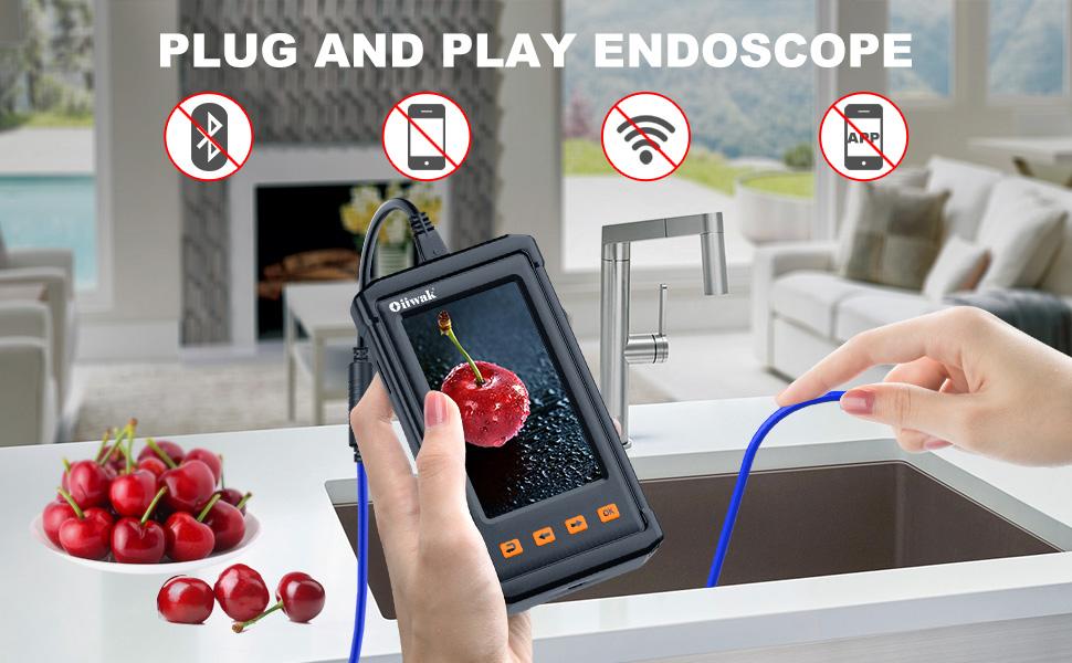 Oiiwak Endoskop Borescope