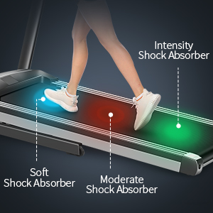 Three-in-one shock absorption system