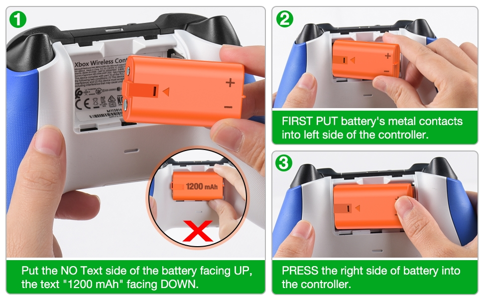 xbox battery work on new controller