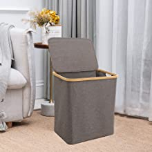 Laundry hamper for living room