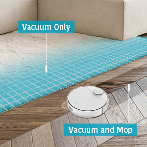 Vacuum and Mop Simultaneously