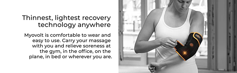 wearable recovery vibration