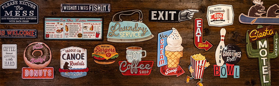 open road brands, diner wall art, coffee wall art