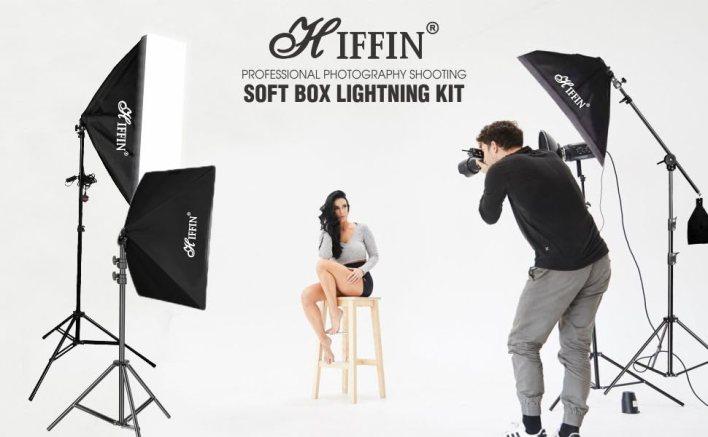 Lighting kit for shoot