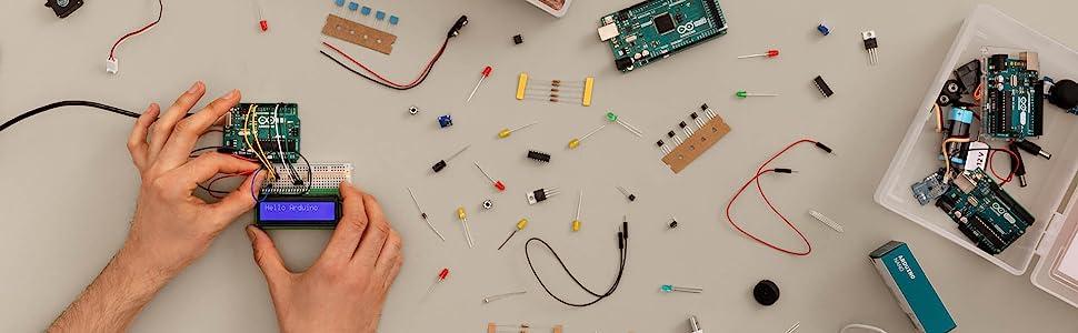 starter kit uno mega Arduino
