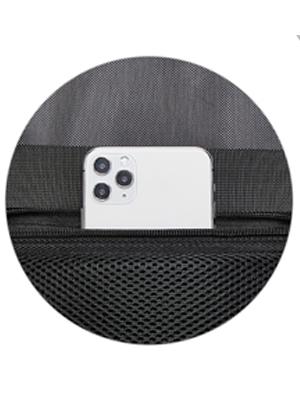 Anti theft back pocket