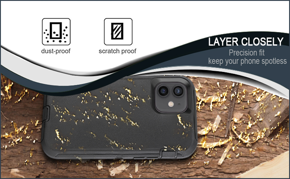 Full Protection Case for iphone 12/12 pro