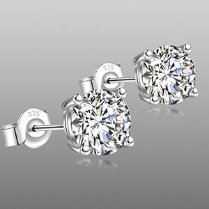 Diamond Stud Earrings for women girls