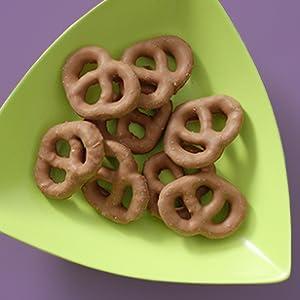 choc pretzels