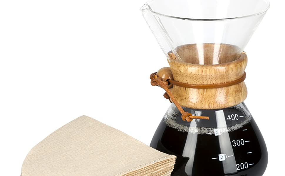 LVKH SINGLE CUP COFFEE MAKER WITH 100 PAPER FILTERS