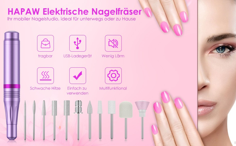 Elektrische Nagelfräser
