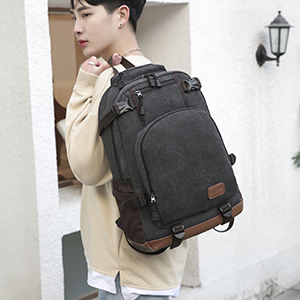 Backpack carrying effect display