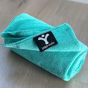 Teal Yoga Towel