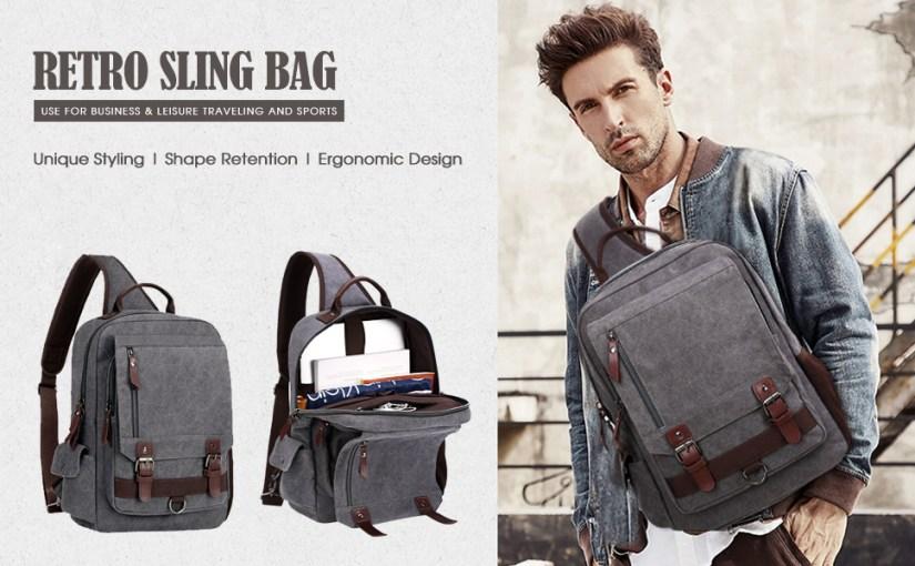 sling backpack bag