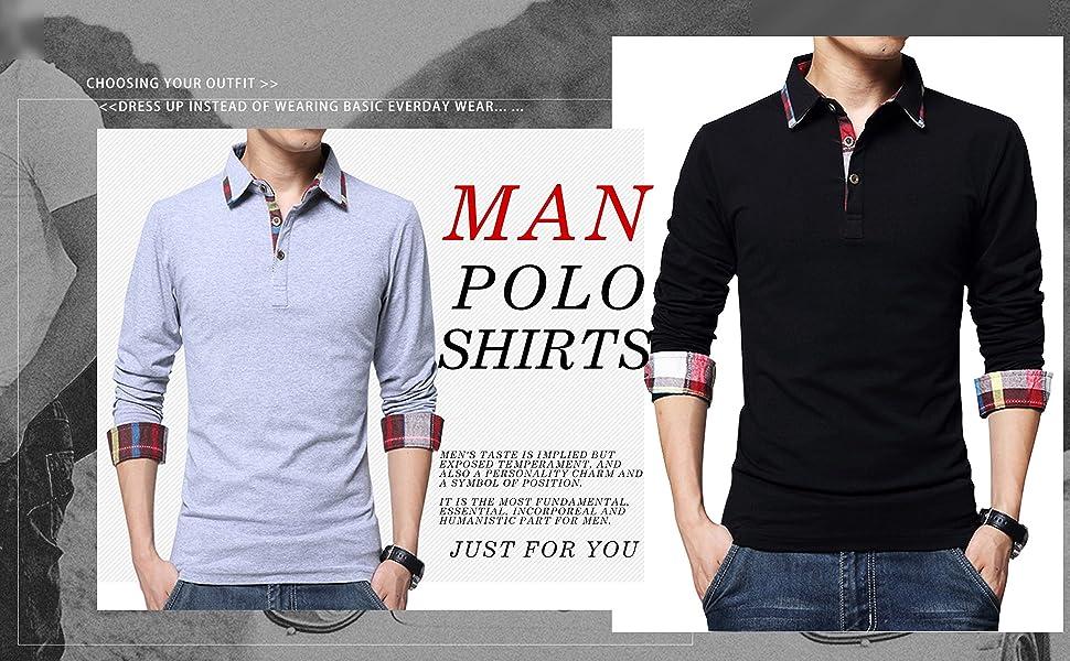 black shirts long sleeve shirts for men