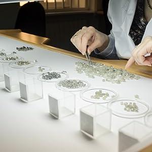 Luv Eclipse Diamond Jewelry Black diamond gemstone studs earrings for women jewelry natural diamonds