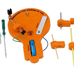 Simple Electricity Science Project Kit Toys for 8 10 years Boys & Girls Battery Operated Toys Crcuit
