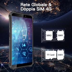 Cellulare Resistenti Rugged Smartphone OUKITEL WP5 Smartphone da esterno IP68 Antiurto