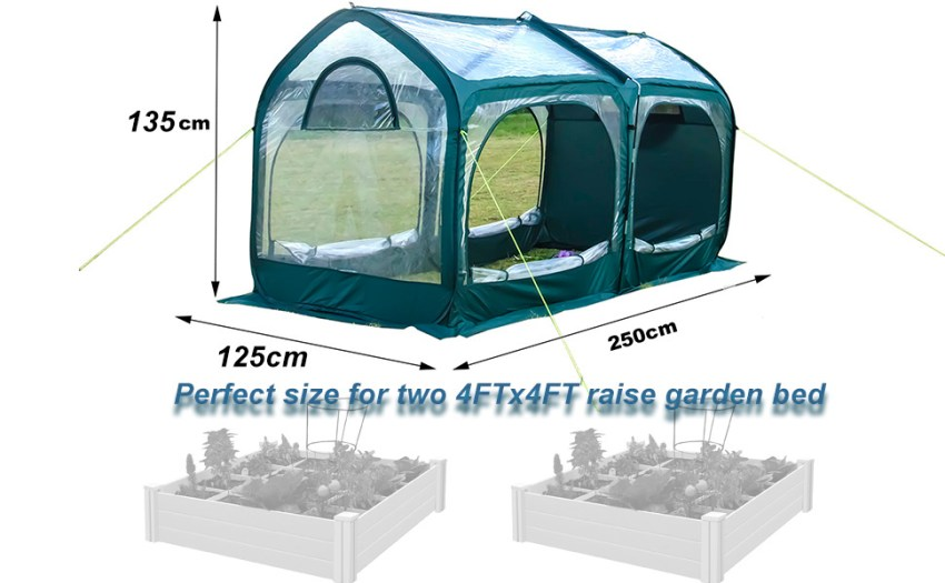 5 Easy Facts About Bestmassage Greenhouse For Outdoors ... - Amazon.com Shown