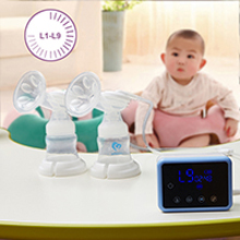 Bellababy breast pump - Bellababy Double Electric Breast Feeding Pumps Pain Free Strong Suction Power Touch Panel High Definition Display