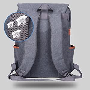 Well padded Shoulder backpack for man