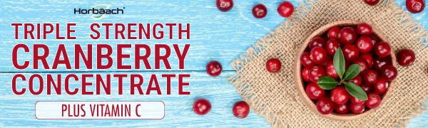 triple strength cranberry concentrate plus vitamin c