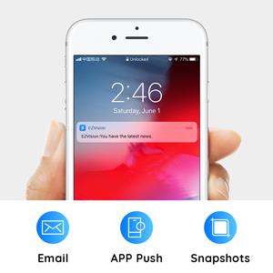 Screenshot alarms