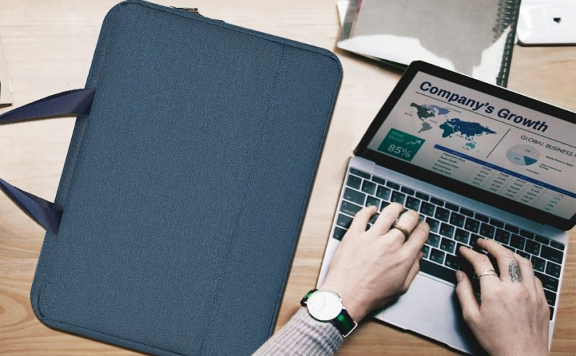 11.6-13 inch laptop briefcase with Organizer