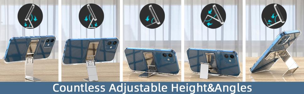 Multi-angle adjustable bracket