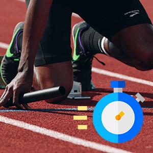 Smart Watch for Women Men Stop Watch for Sport Training Fiteness Traker