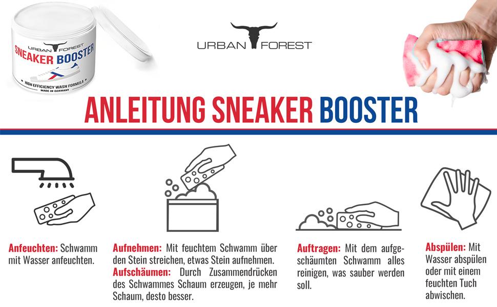 Anleitung Sneaker Reiniger
