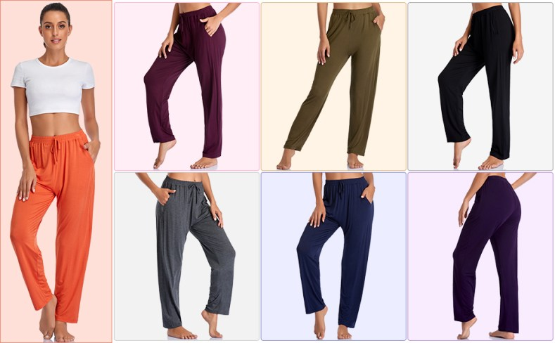 casual pants with pockets