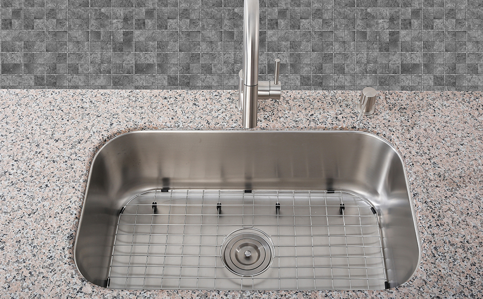 sink bottom grid