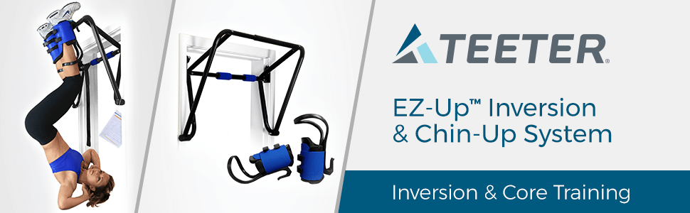 Teeter EZ-Up Inversion & Chin-Up System. Inversion & Core Training