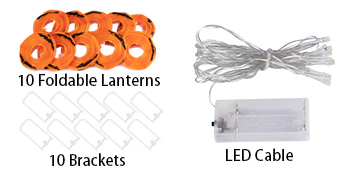 pumpkin lights string