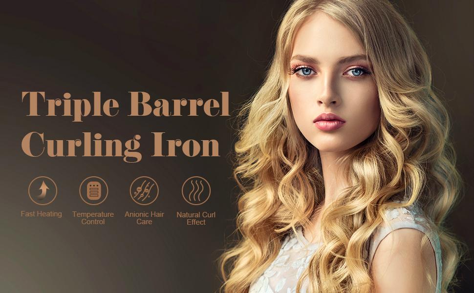 Hair Curling Iron Wand