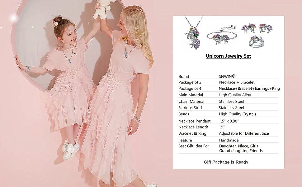 unicorn jewelry for girls