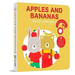 Apples and Bananas Nursery Rhymes  Sound Book
