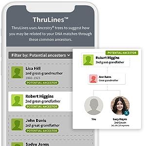 ThruLines Feature