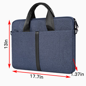 17.3 inch laptop sleeve bag