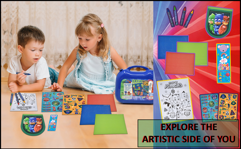 Explore the Artistic Side of You