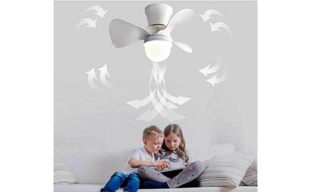 Reversible Ceiling Fan Light