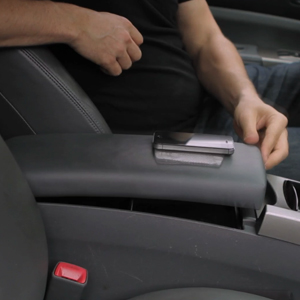 Phone Console Drop Stop Slide Free Pad