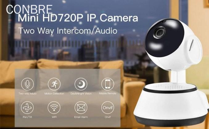 V380 Wifi CCTV Camera