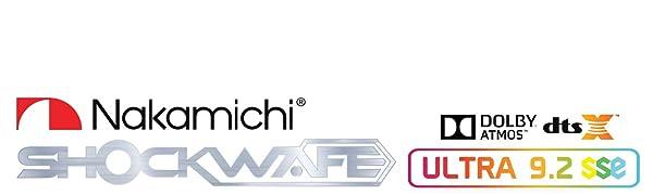 Nakamichi Shockwafe 9.2.4 SSE Dolby Atmos Sound Bar