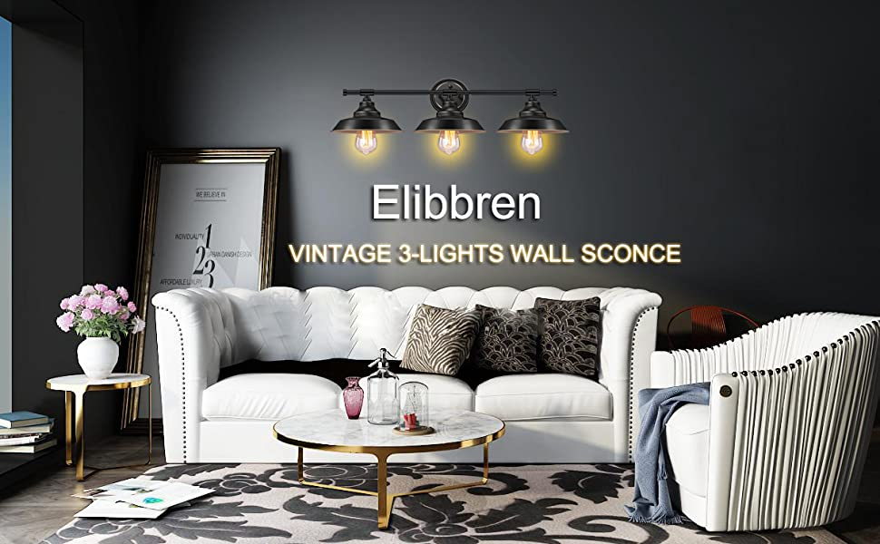 Elibbren industrial wall light