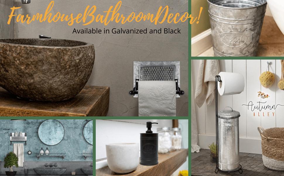 Galvanized Bathroom