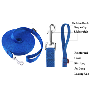 long leash for dogs,long leash for training,long dog leash 50 feet,training leash for dogs