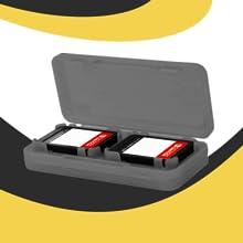 Games game cartridge holder safe protection secure fit