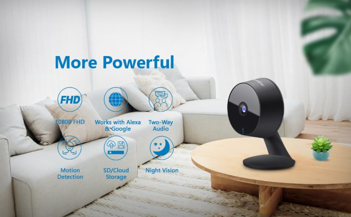 laview security camera indoor wireless 1080P HD home security camera wifi camera
